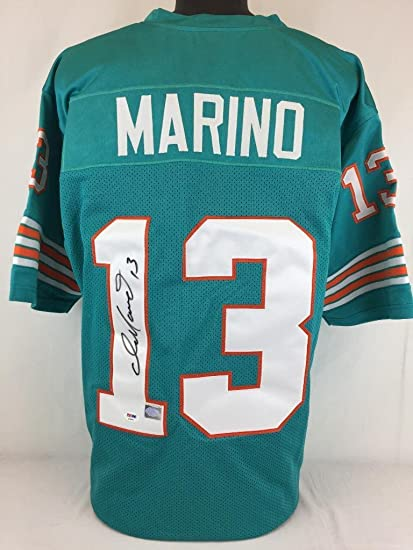 Image Unavailable. Image not available for. Color  Dan Marino signed  autographed jersey Psa coa football ... aed86325a
