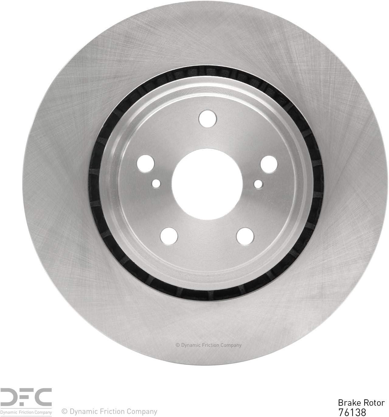 Motorcycle & ATV 1 Front Dynamic Friction Company Disc Brake Rotor ...