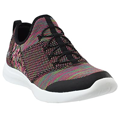 f7e666112dd Skechers Studio Comfort Mix and Match Womens Slip On Sneakers Black Multi 6