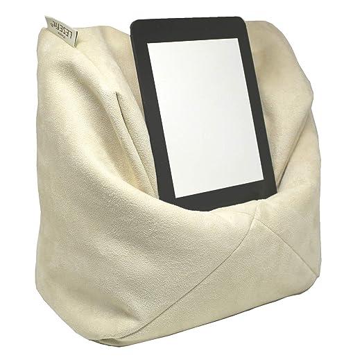 Cojín de lectura Lesefit, suave, soporte para tableta ...