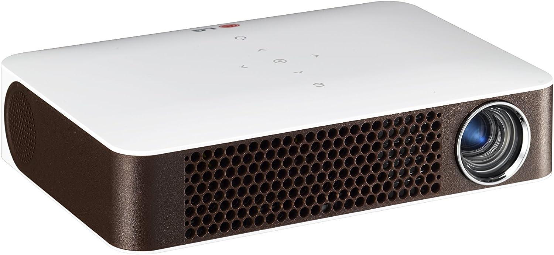LG PW700.AEU - Proyector, 700 lúmenes ANSI, color blanco: Amazon ...