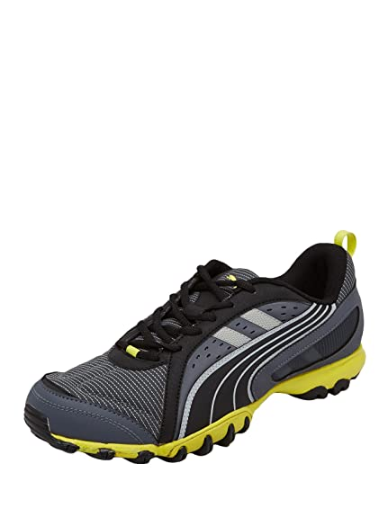 768685605a11 Puma Men Grey Sienna DP Running Shoes  Buy Online at Low Prices in India -  Amazon.in