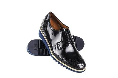 Zerimar Chaussures avec Augmente Intérieur DE 8 CM Fait de Cuir de Haute  Qualité Style Décontracté