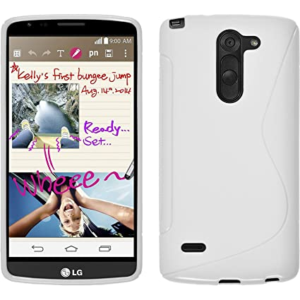 Amazon.com: Funda de silicona para LG G3 Stylus – S-Style ...