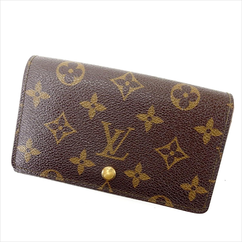 ルイヴィトン Louis Vuitton L字ファスナー財布 二つ折り ユニセックス ポルトモネビエトレゾール M61730 モノグラム 中古 Y1140 B0772SF3GZ