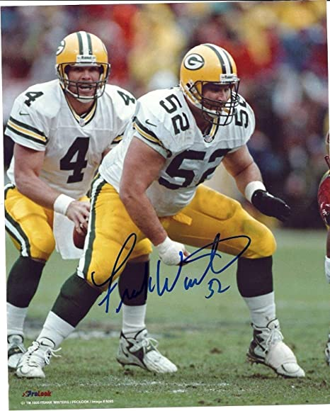 d73bff369 Packers Center Frank Winters Autographed Signed 8x10 Photo  6 Auto ...