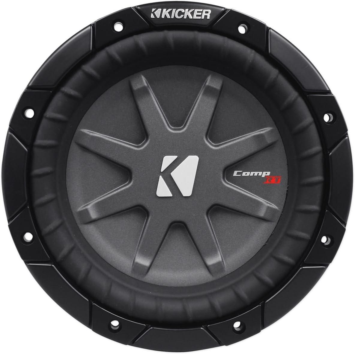 2) Kicker comprt10 cwrt10 – 1 2400 Watts 10