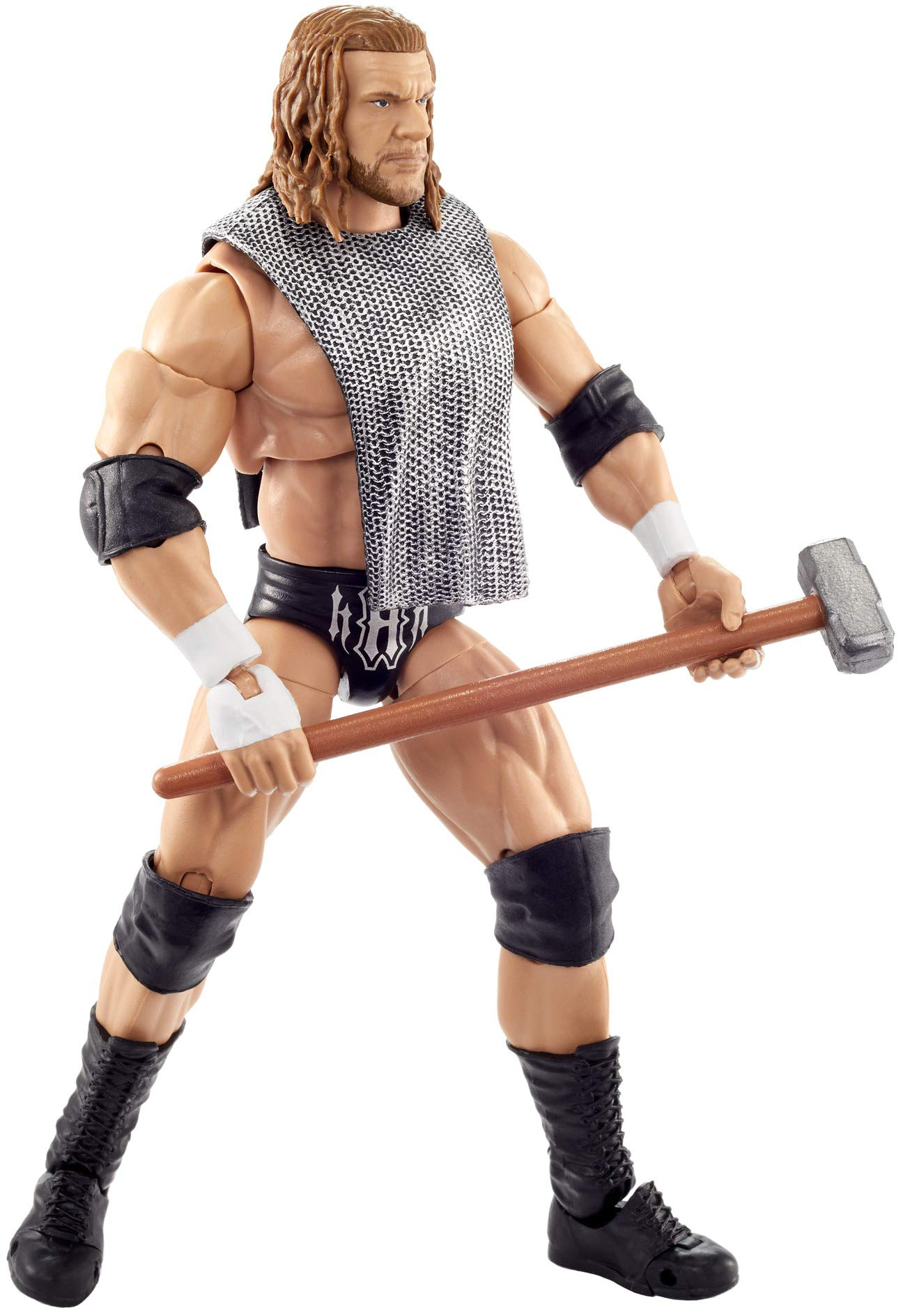 WWE Triple H Ultimate Edition Wave 3 Multiple-Pose 6-inch Action Figure with Entrance Gear, Extra Heads & Swappable Hands ​