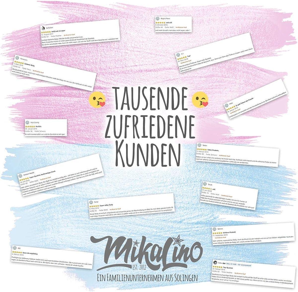 DASS Papa Nicht nur zockt Handmade with Love   handbedruckt in Deutschland Mikalino Baby Schlafanzug Ich Bin der lebende Beweis