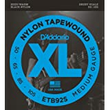 D'Addario ETB92S Tapewound Bass Guitar Strings, Medium, 50-105, Short Scale