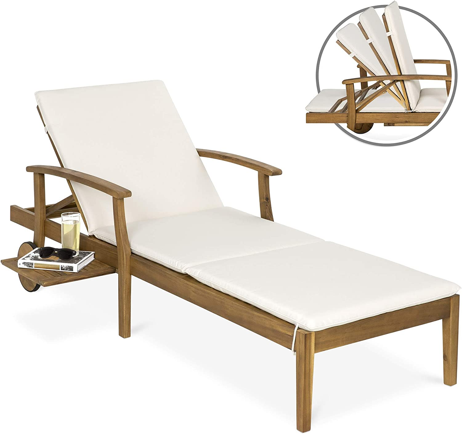 - Amazon.com : Best Choice Products 79x30in Acacia Wood Outdoor