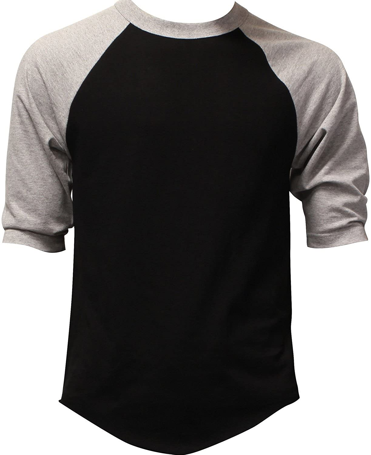 789604bc07 Top1: Hat and Beyond Mens Baseball T Shirts Raglan 3/4 Sleeves Tee Cotton  Jersey S-3xl