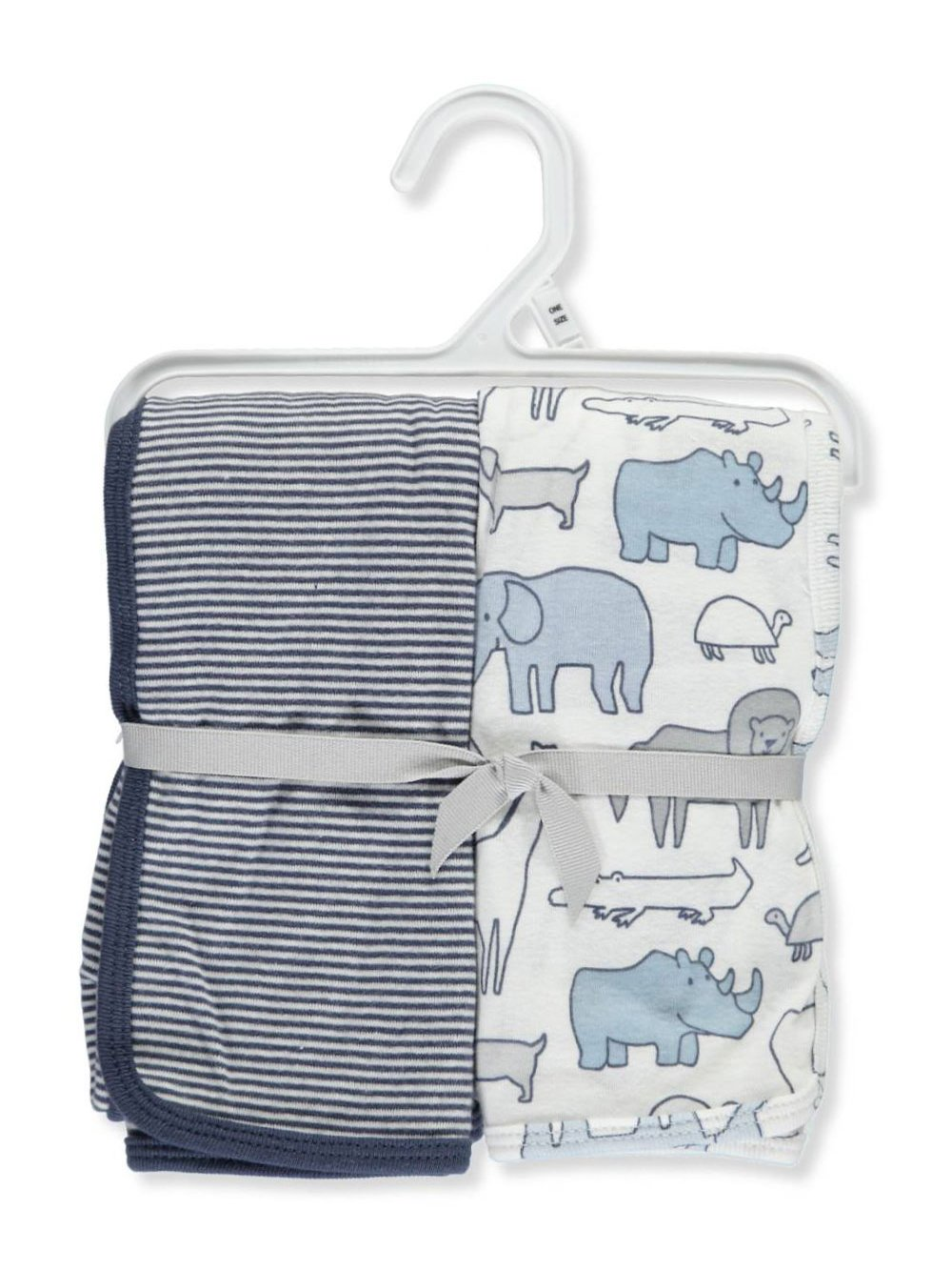 Carter's 2-Pack Swaddle Blankets - blue/multi, one size Carter's 126G743