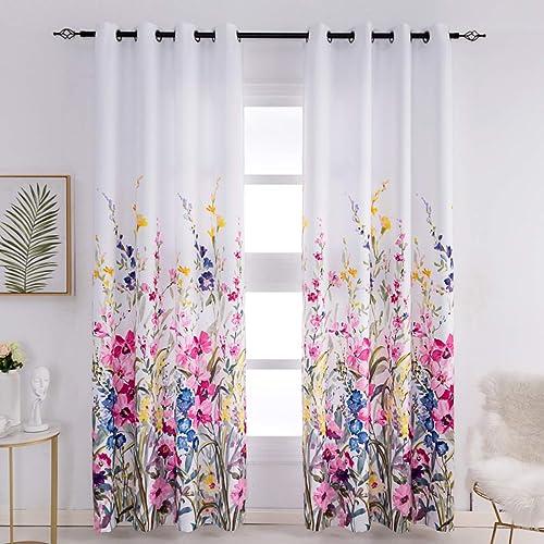 Kotile Floral Curtains