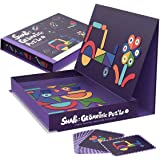 Spelling Matching Games for Kids Educational and Fun Learning Words Happily Parent-Child Time Ideal Birthday Present The Worlds First Me Magnetic Puzzles Portable Suitcase Design