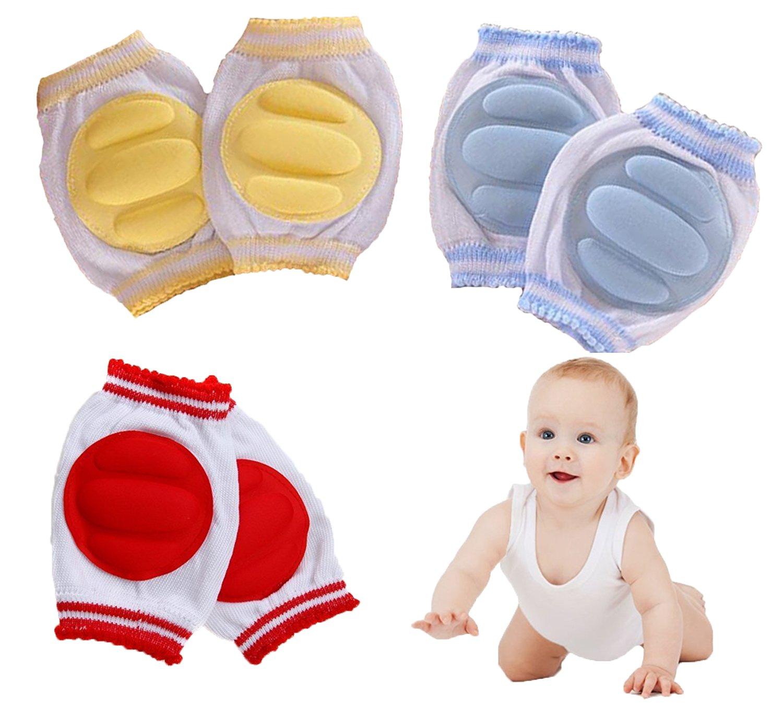 JT-Amigo 3 Paire de Genouillère Protège Genoux Bébé Baby-KneePad