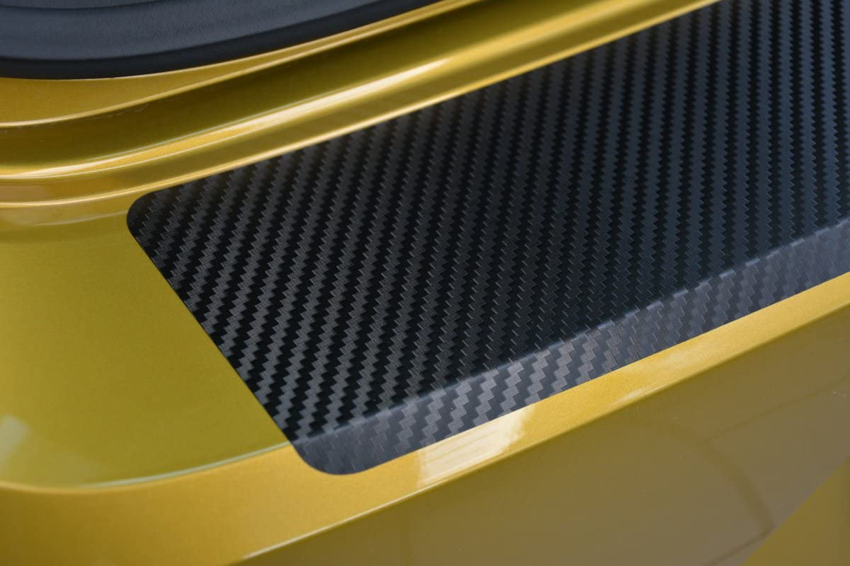 1333-100 V-Protect Ladekantenschutz Lackschutzfolie Schutzfolie Lackschutz Sto/ßstangenschutz Carbon Schwarz 3D 160/µm