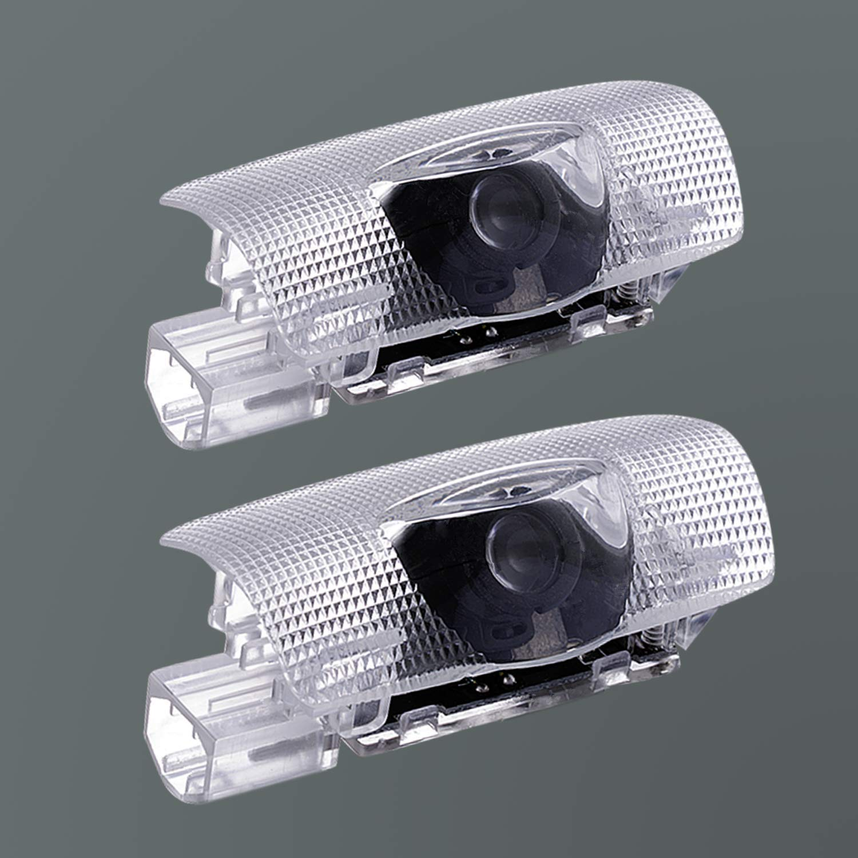 Amazon.com: Luces de proyector LED para puerta de coche ...