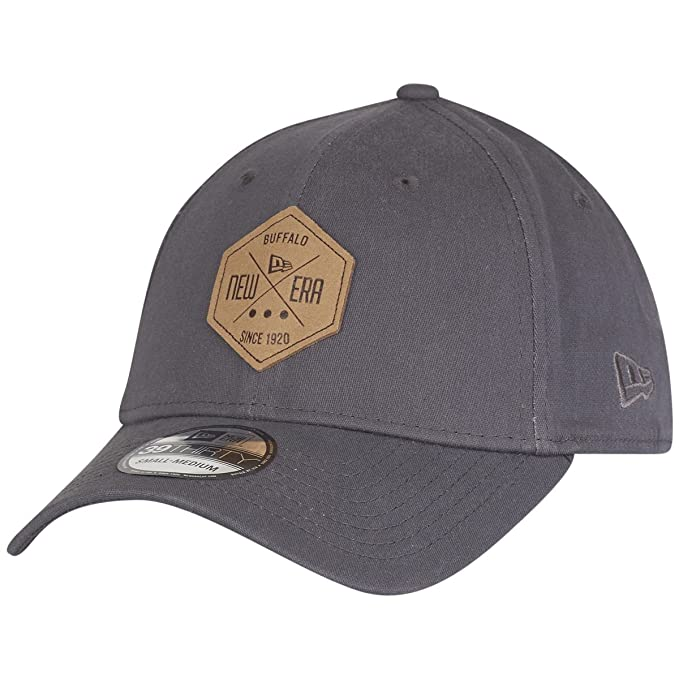 New Era 39Thirty Flexfit Cap - HEX PATCH graphite - S M  Amazon.co.uk   Clothing b08929d0cc18