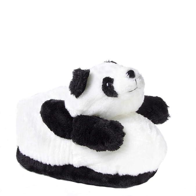 Sleeper z - Panda - Chaussons animaux peluche - Homme Femme Enfant - Cadeau  original  Amazon.fr  Chaussures et Sacs 840f88791d6
