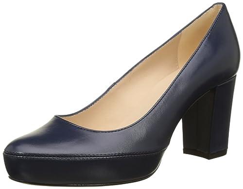 Zapatos azules de punta abierta Unisa para mujer mHD9ZUYX