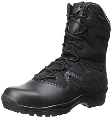 Mens Magnum Men's Stealth Force 8 Inch Side Zip Waterproof Comp Toe I Shield Military and Tactical Boot Clearance Size 41