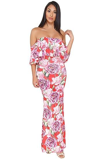 La2mty Maxi Vestido Strapple Diferentes Estampados Estilo