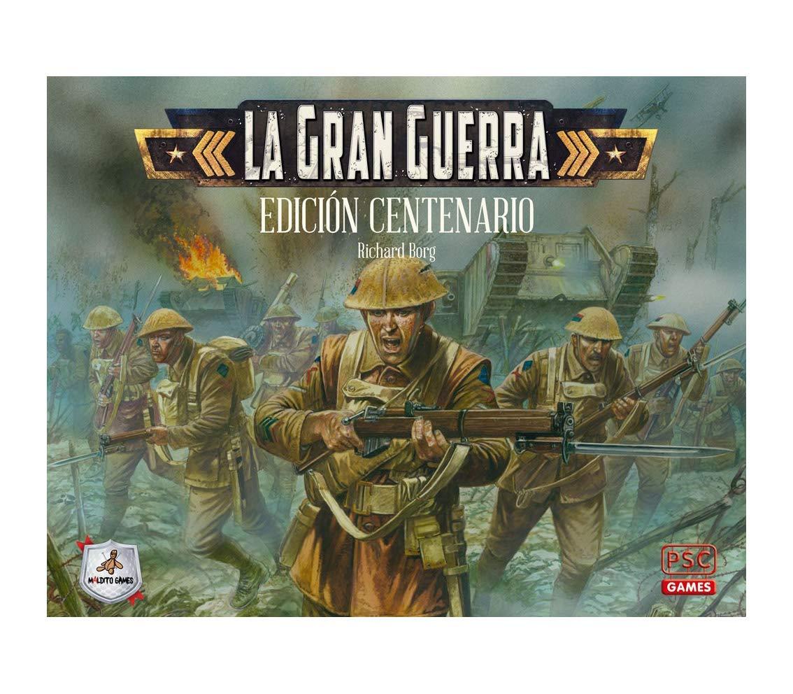 opciones a bajo precio Maldito Games La Gran Guerra Edición Centenario - - - Juego de Mesa en Castellano  Venta en línea de descuento de fábrica