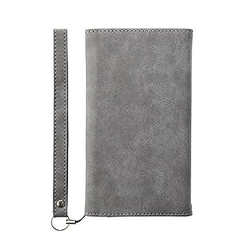 8c508b6736 Simplism iPhone8 / iPhone7 ケース 手帳型 [BillFold] フリップノートカード グレー