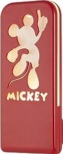 Disney Mickey Mouse LED Night Light, Silhouette, Always On, UL-Listed, Ideal for Bedroom, Nursery, Bathroom, Hallway, 37609