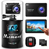 VanTop Moment 4 4K 20MP 30M Waterproof Action Camera with Touch Screen