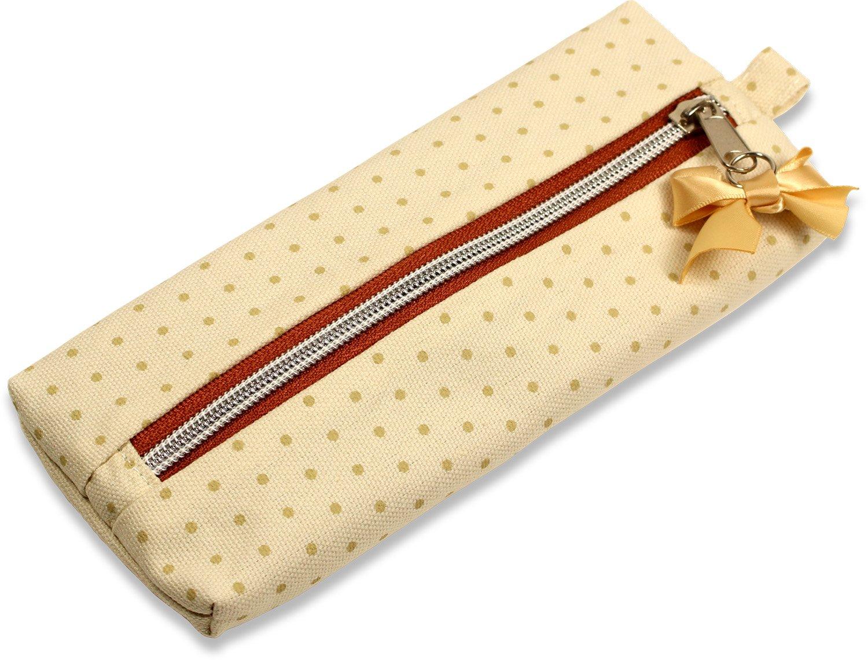 Fannies 11173 Stifteetui mit Schleife, Beige B0146BE20C Federmppchen Kaufen Sie online