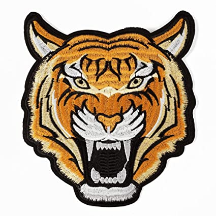 Amazon Tiger Embroidered Iron On Applique Patch Embroidery
