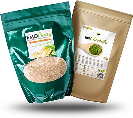 Pack Superalimentos - EMO Body 250 gramos - EMO Bio Chlorella ...