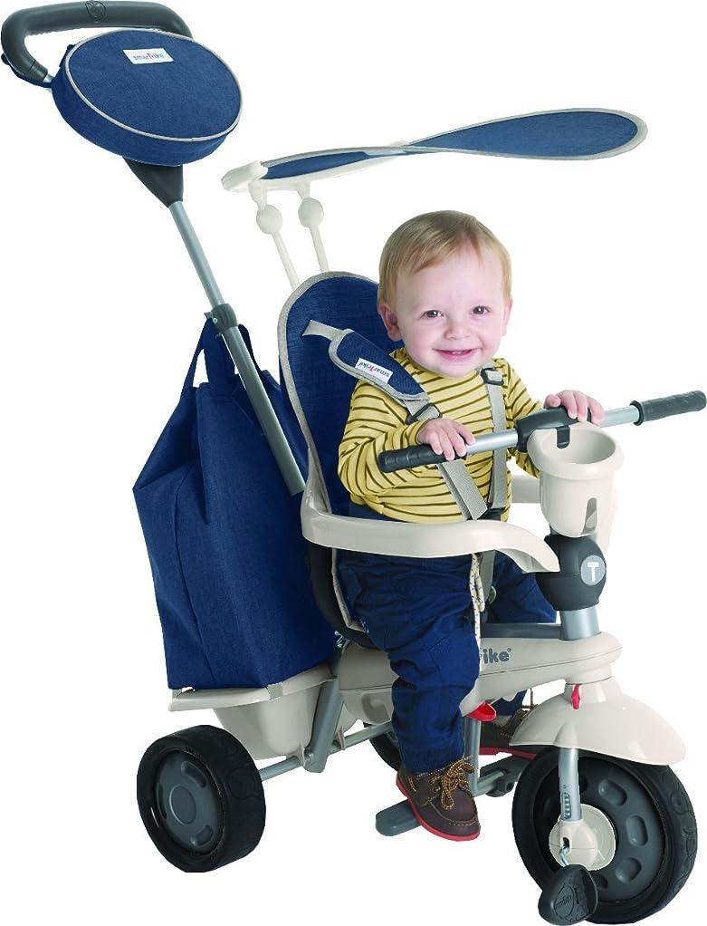 オープナー呼吸敬意三輪車 折りたたみ 子供用 折りたたみ三輪車 U型ハンドル 組立なし オシャレ (レッド)