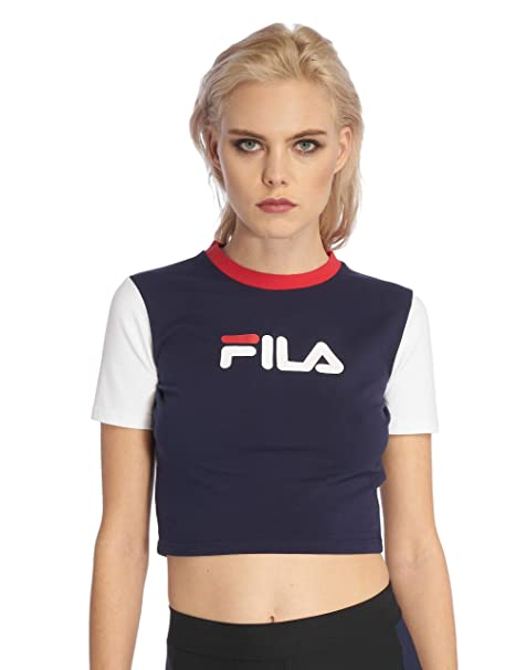 Fila Anna Fitted Tee, T Shirt L: : Bekleidung