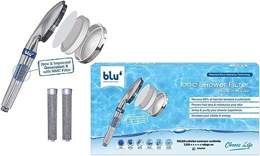 blu Ionic Power Filter: Un purificador de agua y una alcachofa de ...