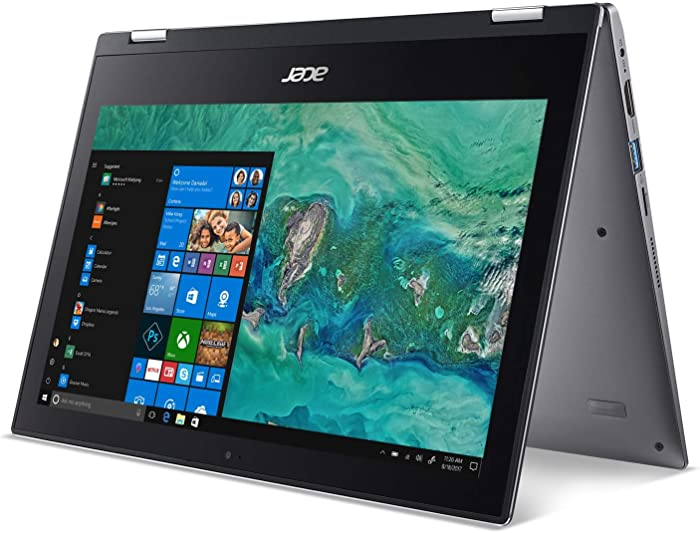 "Acer Spin 1 11.6"" Touchscreen 2-in-1 Laptop,Dual Core,4GB,64GB SSD,Office 365,Win 10"