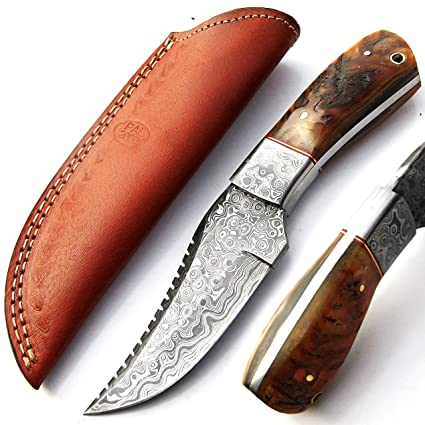 Cuchillo hecho a mano personalizado, cuchillo de acero de ...