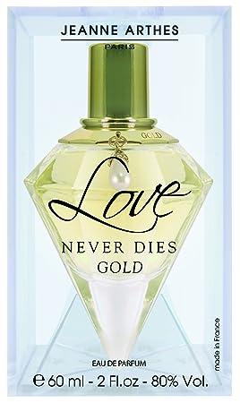 Jeanne Arthes Eau De Parfum Love Never Dies Gold 60 Ml Amazoncouk