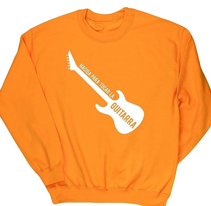 HippoWarehouse Nacida Para Tocar La Guitarra (Eléctrica) jersey sudadera suéter derportiva unisex: Amazon.es: Ropa y accesorios