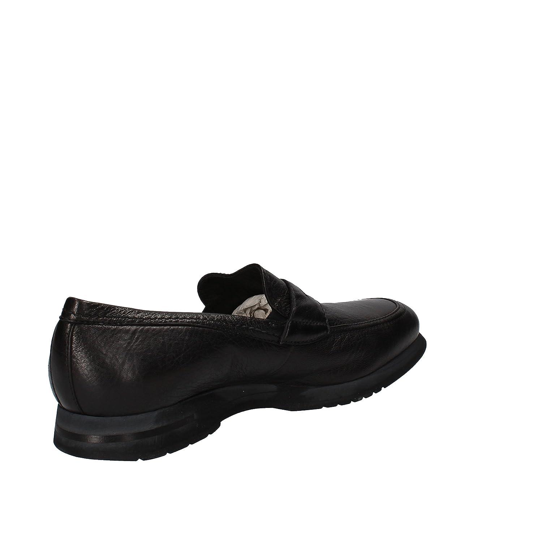 BOTTICELLI LIMITED Mocasines Hombre Cuero Negro 44 EU: Amazon.es: Zapatos y complementos