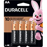 Pilha Alcalina AA, Duracell C/8, Copper And Black