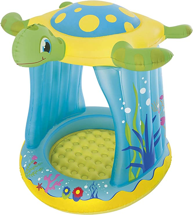 Piscina Hinchable Infantil Bestway Turtle Totz: Amazon.es: Jardín