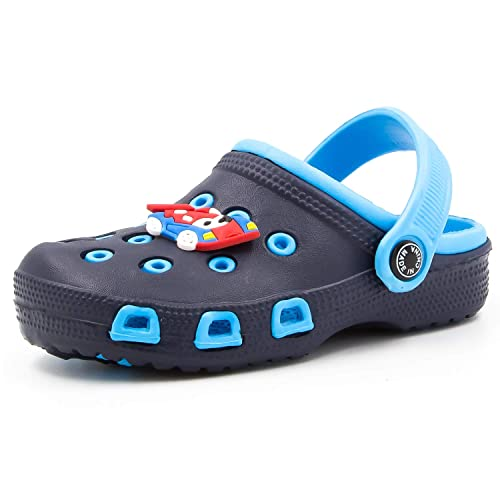 Zuecos Unisex Niños Sandalias Zapatos Niños Verano Chanclas Zuecos Niñas Antideslizante Zapatillas Chanclas de Playa de Verano 22 31 EU