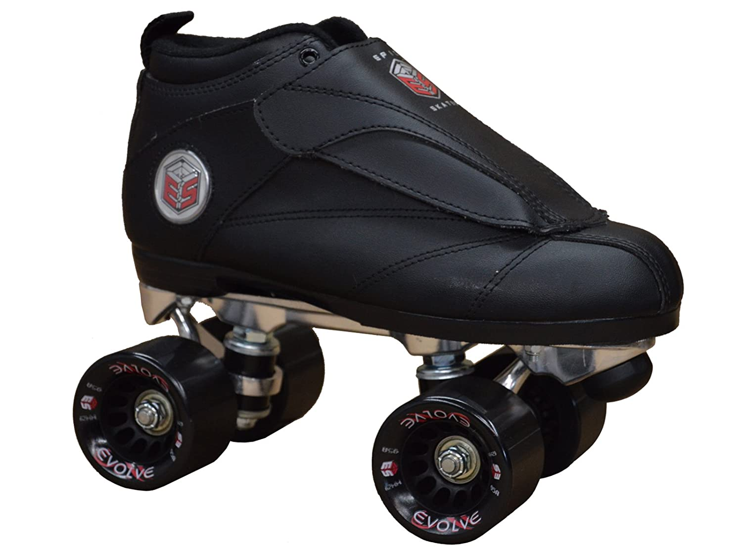 Roller Derby Elite Primo Jam Speed Roller Skates Black and Grey