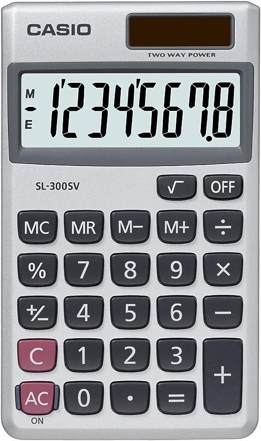 Nanxi Gesch/äft Standard Taschenrechner Solar und Knopf Batterie Taschenrechner kompaktes Design Schulrechner modern Mode 12-stellig Display