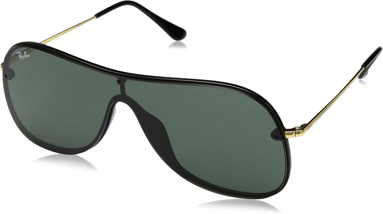 Ray-Ban 0RB4311N Gafas de sol, Black, 45 Unisex