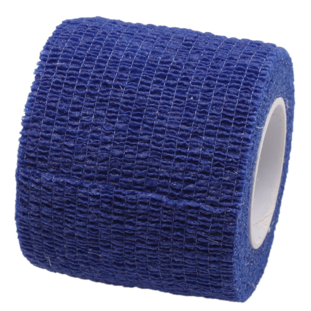 Pet Bandaging Tape Fabric Adhesive, Dog Cat Bandages (Light Blue)