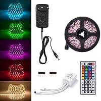 Sunix Kit de Ruban LED RGB 5M 5050 SMD 150 LEDs